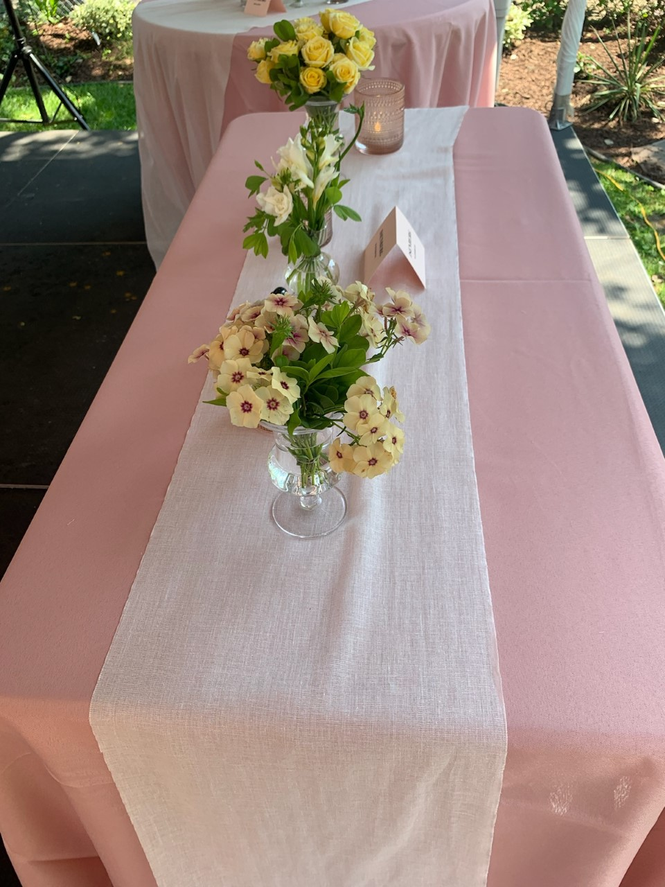 "Cheesecloth Table Runner 12"" Wide Grade 90 - 100 Yards White"