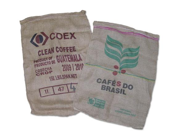 "Used Burlap Coffee Bags - 28"" x 40"""