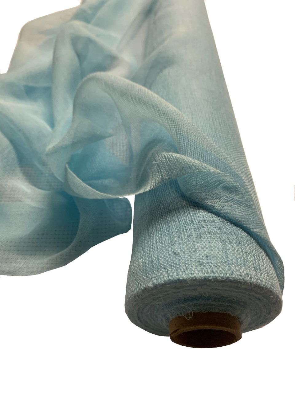 "36"" Light Blue Cheesecloth 100 Foot Roll - 100% Cotton"