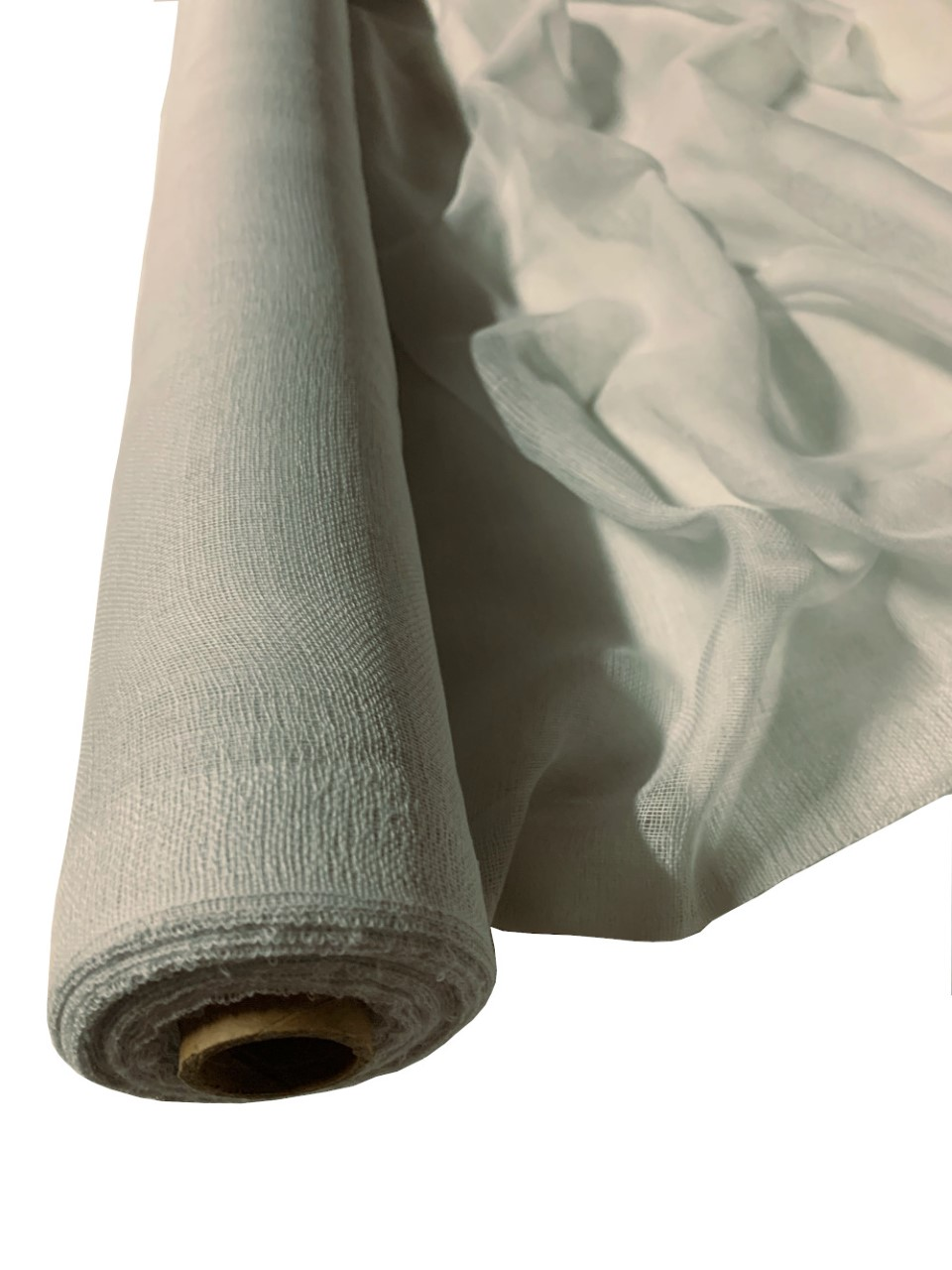 "36"" Light Grey Cheesecloth 100 Foot Roll - 100% Cotton"