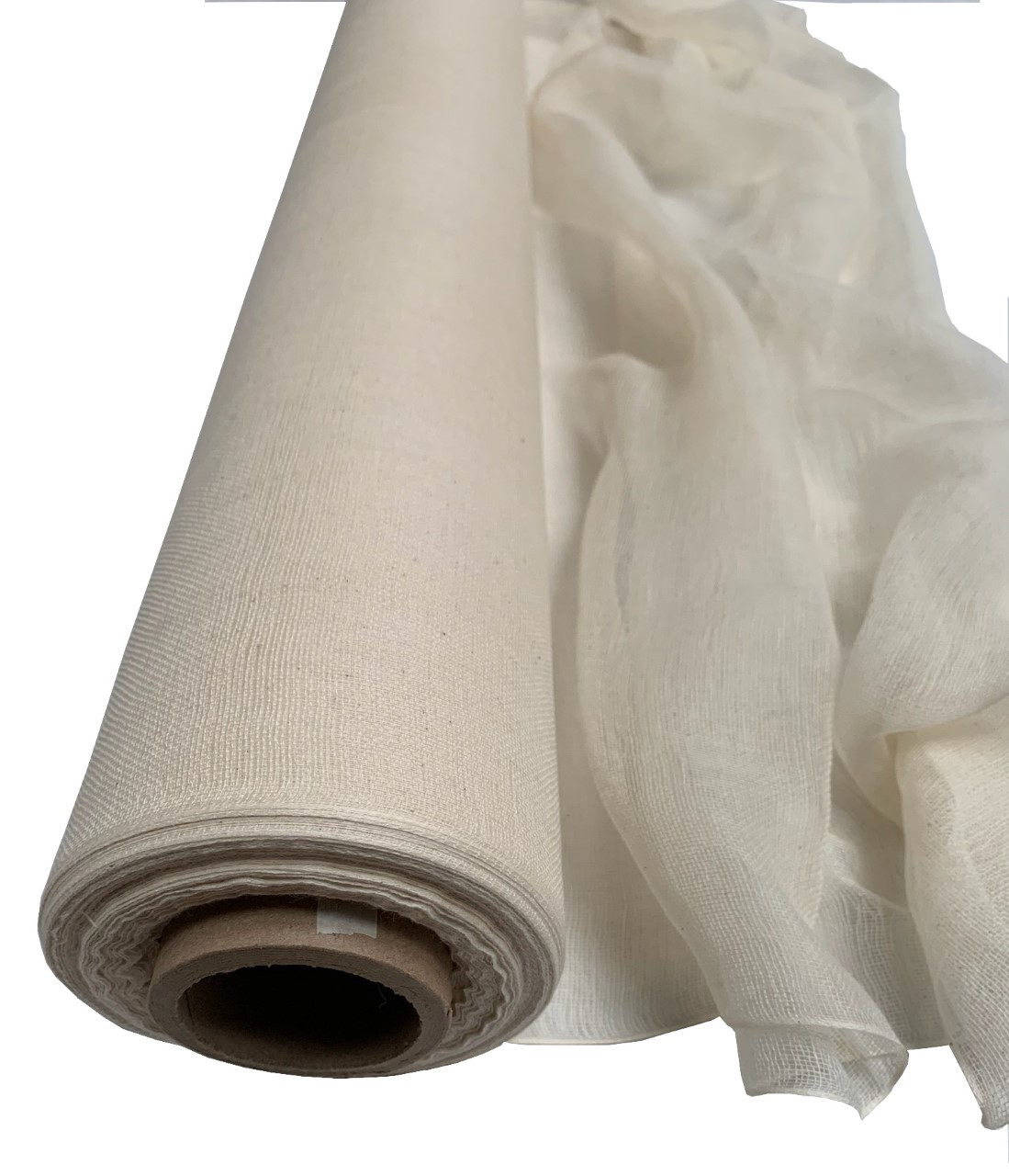 "36"" Natural Cheesecloth 100 Yard Roll - 100% Cotton"
