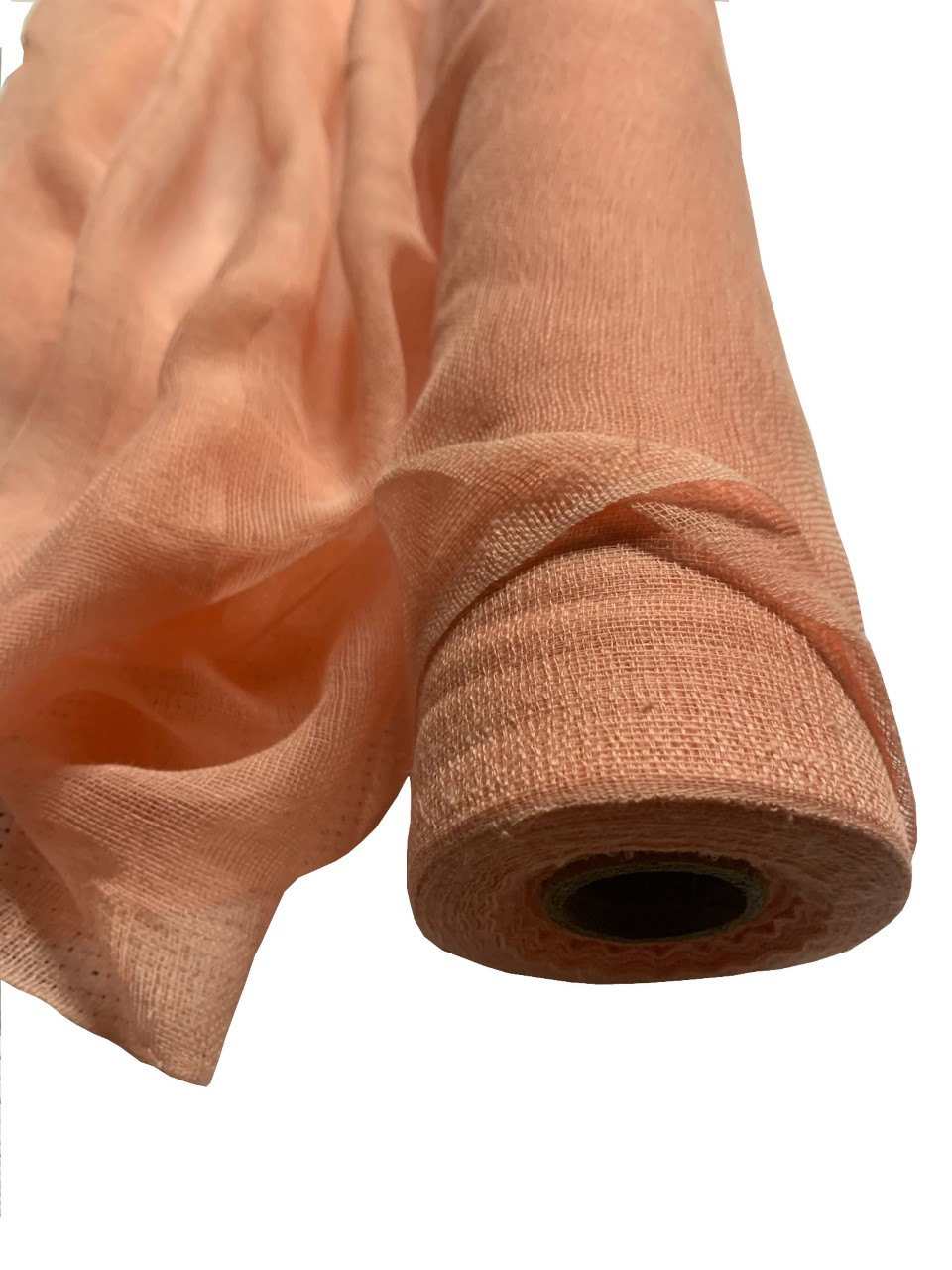 "36"" Peach Cheesecloth 100 Foot Roll - 100% Cotton"