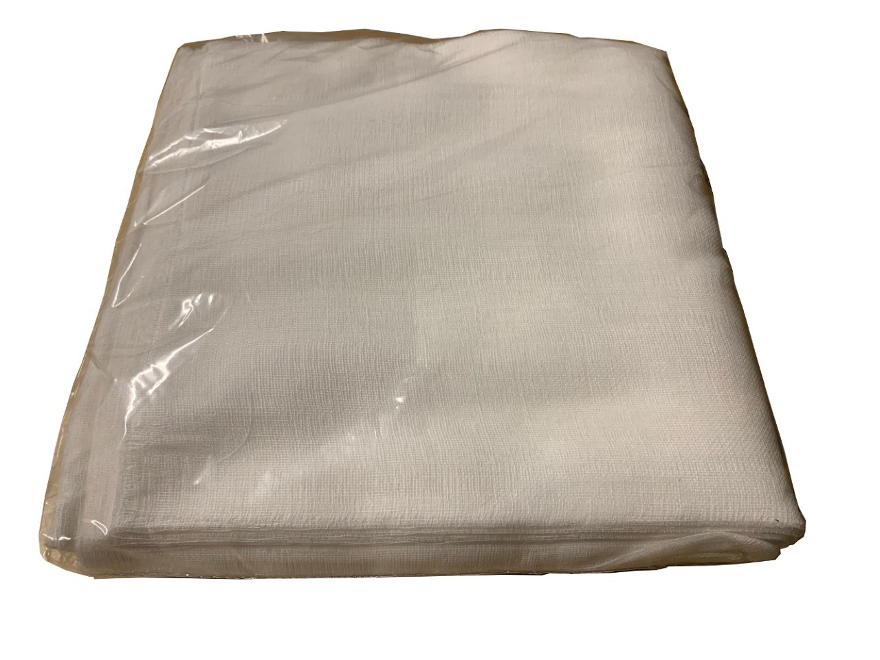 "10"" x 20"" Grade 50 Bleached Cheesecloth - 100 Pack"