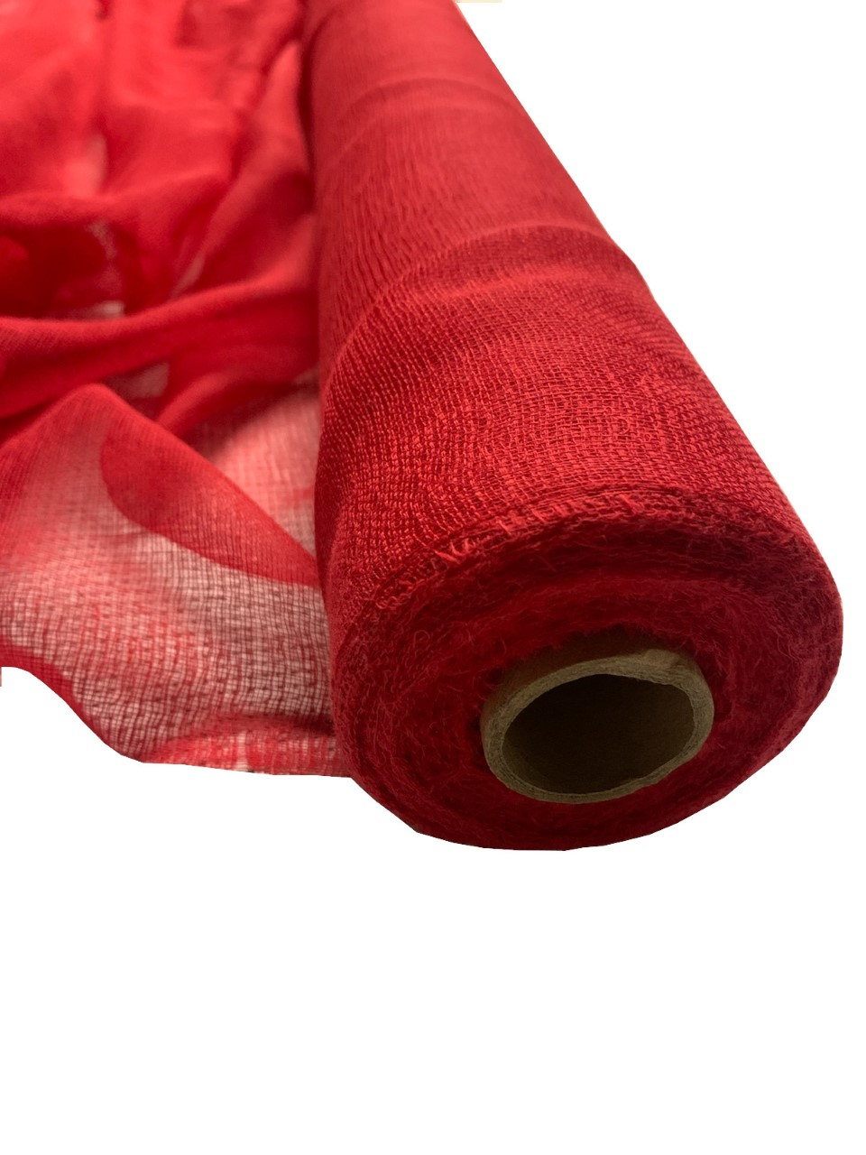 "36"" Red Cheesecloth 100 Foot Roll - 100% Cotton"