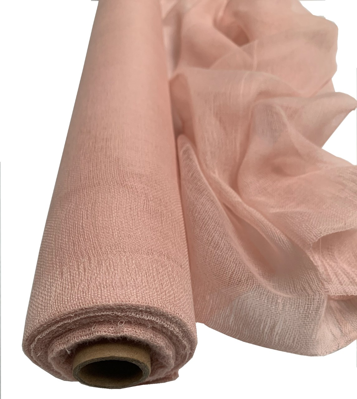 "36"" Rose Gold Cheesecloth 100 Foot Roll - 100% Cotton"