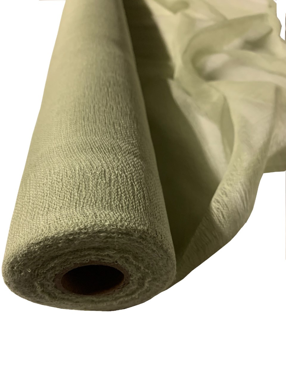 "36"" Sage Cheesecloth 100 Foot Roll - 100% Cotton"